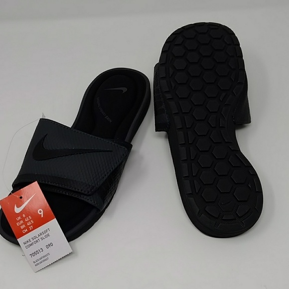 f86b3e320fe6 Nike Mens Solarsoft Comfort Slide Sandal